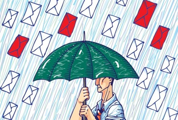 """Sử dụngEmail doanh nghiệpgiúp các nhân viên của bạn """"miễn nhiễm"""" với các loại thư từ nguy hại này"""