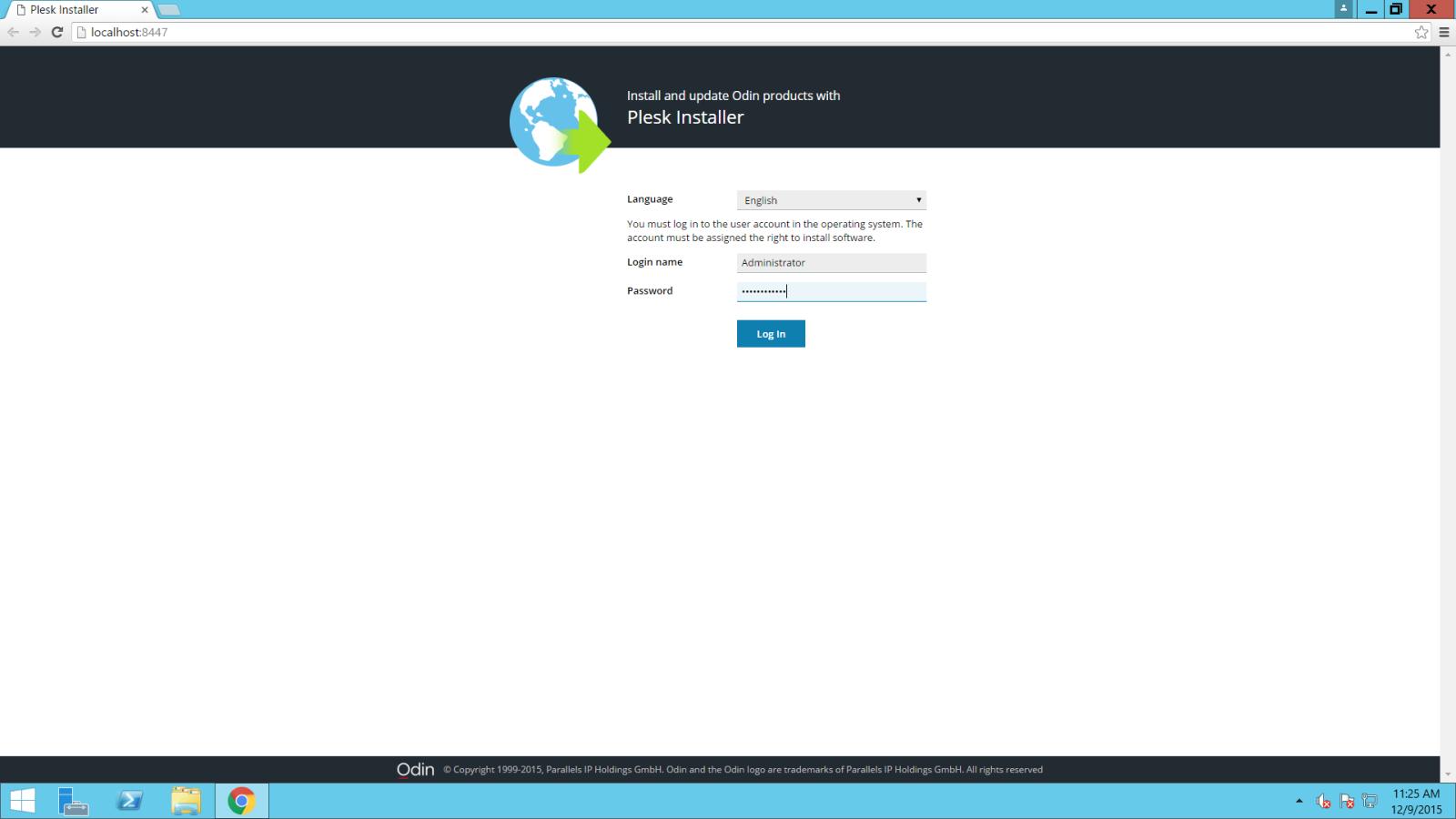 Hướng dẫn cài đặt Plesk 12 5 (Windows OS + Linux OS) - ODS