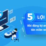 5 lợi ích khi đăng ký Email theo tên miền Website