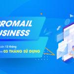 Đăng ký 12 tháng ProMail Business tặng thêm 3 tháng sử dụng
