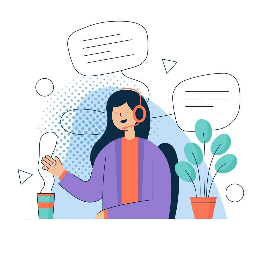 Bạn có thể tùy chọn tính năng, cài đặt lời chào tự động dễ dàng khi khách hàng gọi đến