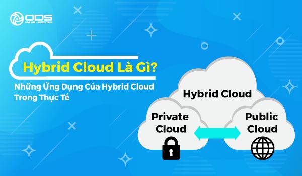 Hybrid Cloud là gì? Những ứng dụng của Hybrid Cloud trong thực tế
