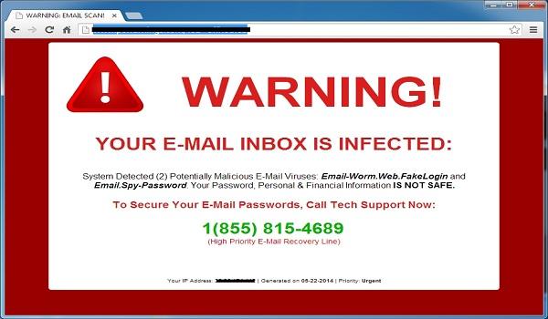 Đừng tùy tiện nhấp vào thông báo về việc chống Virus giả