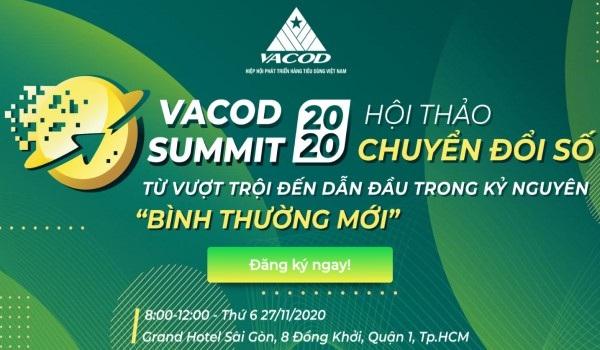 Hội thảo chuyển đổi số được tổ chức tại Grand Hotel Sài Gòn, TP. HCM