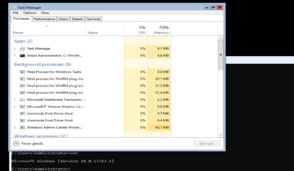 Server Core được giới thiệu lần đầu tiên cùng với Windows 2008