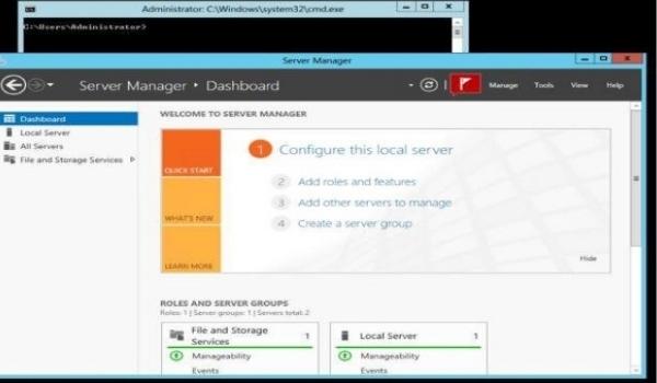 Windows Server 2019 Datacenter Server Core - Các ứng dụng GUI gốc đã có sẵn theo mặc định được Microsoft cung cấp