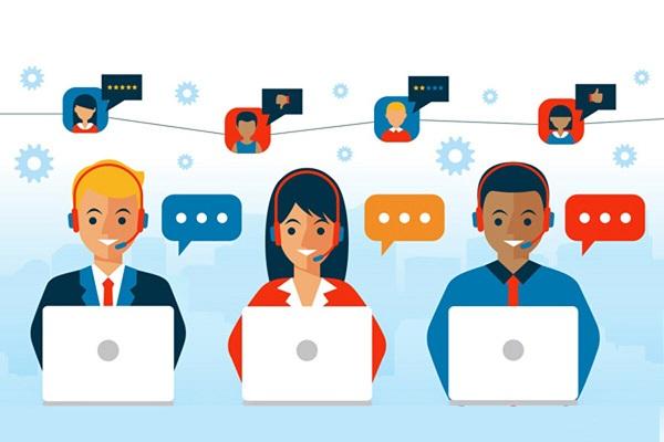 Những bộ phận chăm sóc khách hàng, bán hàng trực tuyến...nên sử dụng tổng đài số.